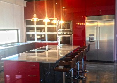 acrylic-gloss-red-painted-kitchen-cabinets-moose-jaw-regina