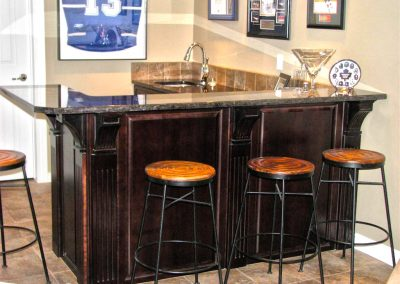 Moose Jaw Basement Bar Entertainment Cabinet