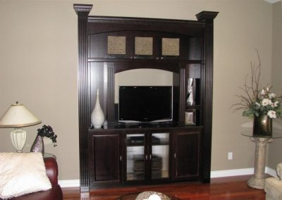 Entertainment Unit - Custom Cabinets Moose Jaw