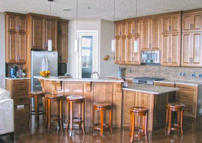 Maple Hardwood Natural Wood Kitchen Moose Jaw Saskatchewan