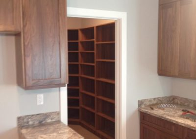Kitchen Custom Walk-In Pantry Cabinets Moose Jaw