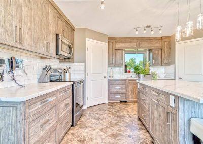 Thermofoil Kitchen Cabinets Textured Luxury Vinyl Wrap Moose Jaw Regina