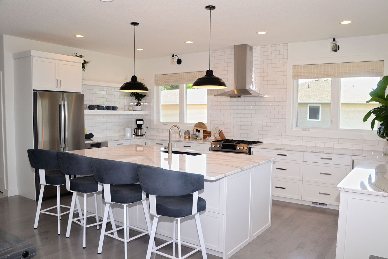 Painted Kitchen Cabinets Hanover Cabinets Moose Jaw Regina