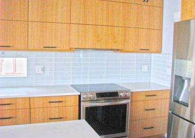 Natural Wood Kitchen Cabinets - Contemporary Modern - Regina, Moose Jaw