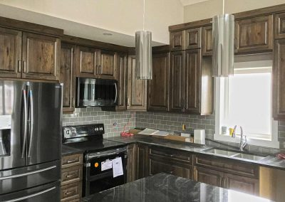 Natural Wood Kitchen Cabinets, Moose Jaw- Regina