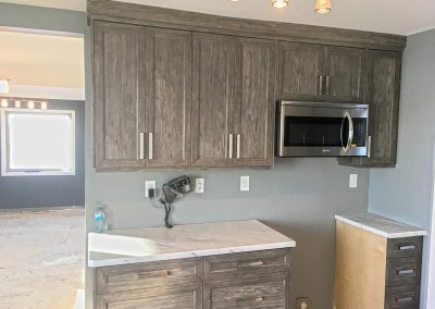 Thermofoil Cabinets Textured Luxury Vinyl Wrap Cabinets, Moose Jaw, Regina