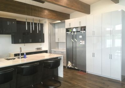 Textured Luxury Vinyl Wrap Kitchen Cabinets Moose Jaw
